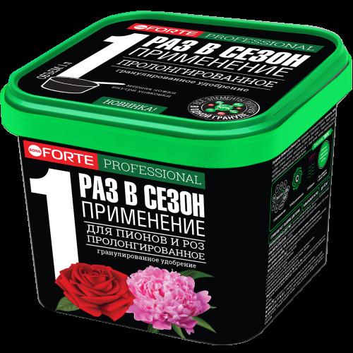 Удобрение гранулированное пролонгированное Для пионов и роз с биодоступным кремнием, 1л