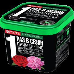 Удобрение гранулированное пролонгированное Для пионов и роз с биодоступным кремнием, 1 л